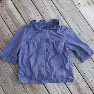 Gap purple crop top shirt size xs
